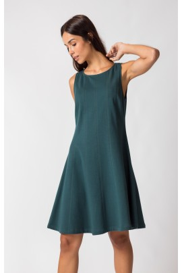 Kleid SKFK Ermuko Dress Dark Green
