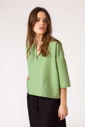 Shirt SKFK Naiare Pale Green
