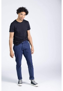 Chinos Kuyichi Dexter Tapered Worker Blue