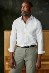 Hemd About Companions Simon Shirt Stone Linen