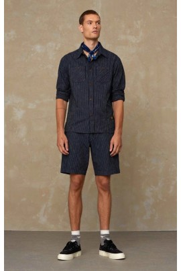 Shorts Kings Of Indigo Cronus Stripe Indigo
