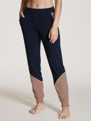 Hose Calida 100% Nature Relax Pants Dark Lapis Blue