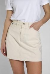 Jeans-Rock Kuyichi Dani Skirt Off White
