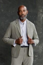 Hemd About Companions Ken Shirt Striped Navy