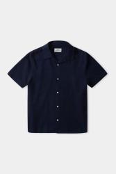 Kurzarmhemd About Companions Kuno Shortsleeve Shirt Navy