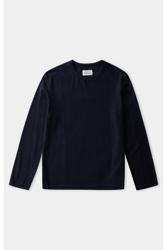 Langarm-Shirt About Companions Lars Longsleeve Navy