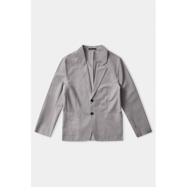 Image of Blazer About Companions Enver Stone Grey