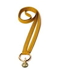 Schlüsselband Yoomee Keychain Zahra Thunderbolt Gold