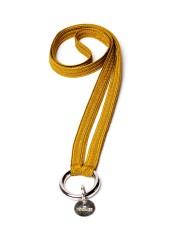 Schlüsselband Yoomee Keychain Zahra Dijon Gold