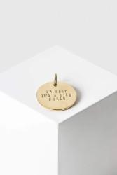 Schlüsselanhänger Yoomee Key Tag Soulmate Gold