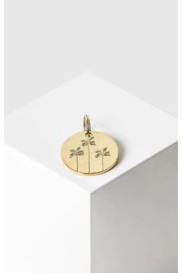 Schlüsselanhänger Yoomee Key Tag Palms Gold