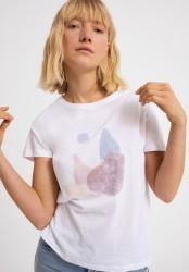 T-Shirt Armedangels Nelaa Stones White