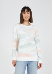 Sweatshirt Armedangels Mathildaa Color Strokes Off White
