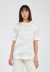 T-Shirt Armedangels Taraa Color Strokes Off White