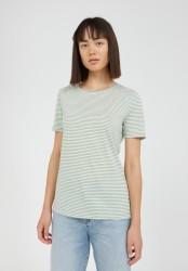 T-Shirt Armedangels Lidiaa Small Stripes Matcha-Oatmilk