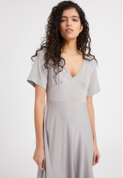 Midi-Kleid Armedangels Rosamaary Silver