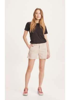 Chino-Shorts Knowledge Cotton Apparel Willow Light Feather Gray