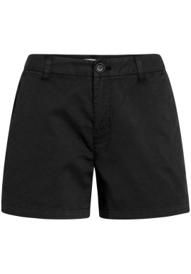 Chino-Shorts Knowledge Cotton Apparel Willow Black Jet