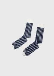 Socken Klitmøller Collective Sailor Cotton Sock Cream/Navy
