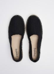 Espadrilles Espadrij l'originale® Knit High Women Noir
