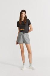 Shorts Ecoalf Topaz Light Charcoal Khaki