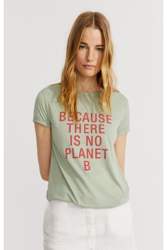 Damen-T-Shirt Ecoalf Onda Sage