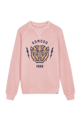 Sweater Komodo Tiger Crew Neck Salted Grapes