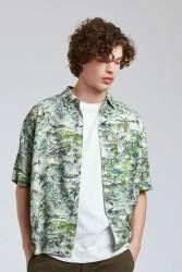 Hemd Komodo Dingwalls Shirt Bali Green
