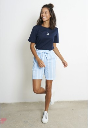 Shorts Recolution Stripes Dusk Blue-White