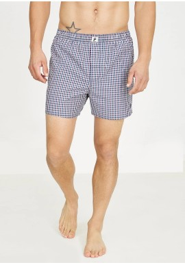 Boxershorts Recolution Checked Blue-White-Red