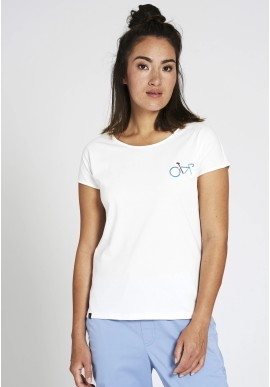 T-Shirt Recolution Casual Bike Off White