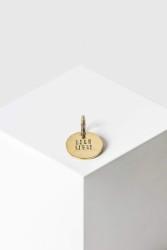"Schlüsselanhänger Yoomee Key Tag Mini ""Dich liebi"" Gold"