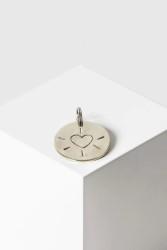 Schlüsselanhänger Yoomee Key Tag Heart silver