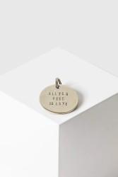 Schlüsselanhänger Yoomee Key Tag All You Need Is Love silver