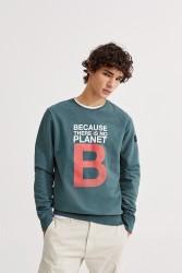 Sweatshirt Ecoalf Great B Dark Green