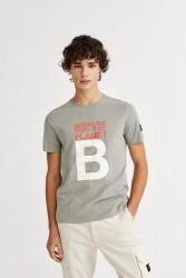 T-Shirt Ecoalf Natal Great B Khaki