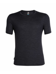 Herren-T-Shirt Cool-Lite™ Icebreaker Sphere Black Heather