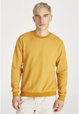 Pullover Givn Berlin Canton Sweater Pecan Waffle