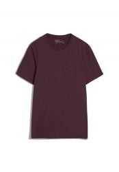 T-Shirt Armedangels Jaames Dark Aubergine