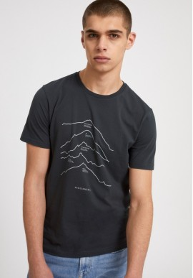 T-Shirt Armedangels Jaames Top 5 Mountains Depth Navy