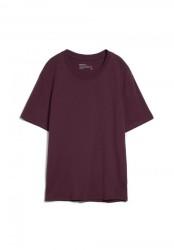T-Shirt Armedangels Aado Dark Aubergine