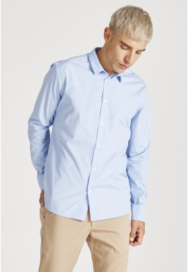 Hemd Givn Berlin Kent Shirt Light Blue White