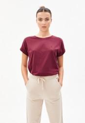 T-Shirt Armedangels Idaa Ruby Red