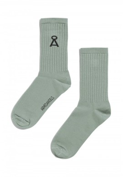 Socken Armedangels Saamu Sage Green