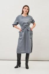 Kleid Maska Opal Dress Grey Blue