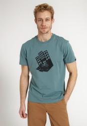 T-Shirt Recolution Casual Agave HousexBiker Lake Green