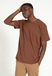 T-Shirt Recolution Pandan Dark Orange Black