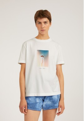 T-Shirt Armedangels Miaa Nature is Change Undyed