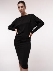 Fledermauskleid Tencel™ Lanius Black