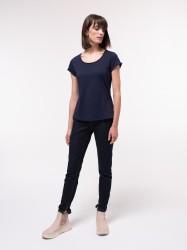 High Waist Jeans GOTS Lanius Dark Blue Denim